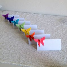 Origami Place Cards Wedding Escort Cards Paper by nikkiPOParts,