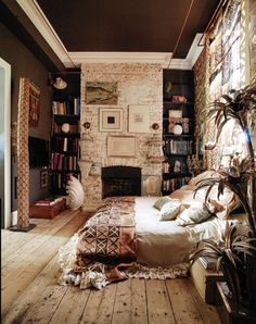 Cozy Bedroom 23 bookish bedrooms you need to see | unique, room and books
