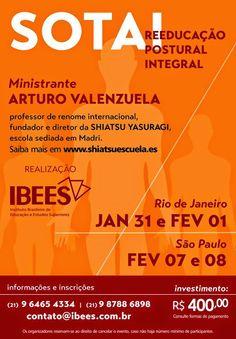 sotai no Brasil - reeducação postural integral