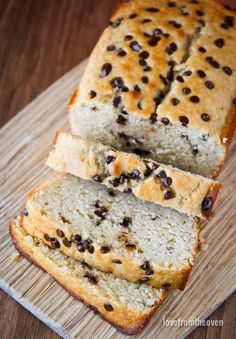 Chocolate Chip Loaf Recipe