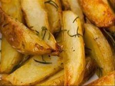 Cozinha Fácil: Batatas com Alecrim