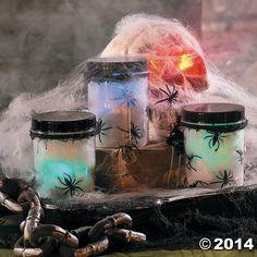 Glowing+Spider+Jars+-+OrientalTrading.com