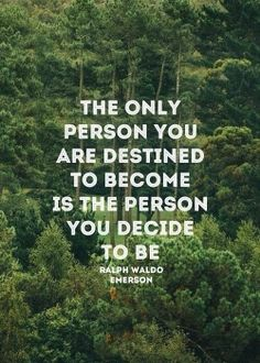 Wise words from Emerson to kick off the new year.