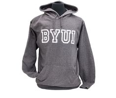 BYU-Idaho Men's Jersey Applique Hood