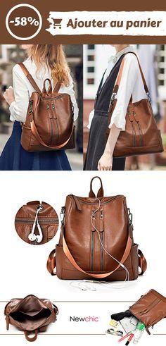 a041b168a1 Les 39 meilleures images de Sac à dos chic | Chic backpack, Fashion ...