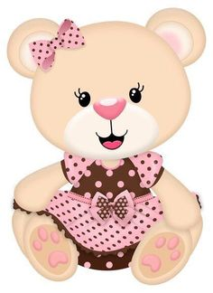 Hola Teddy Bear Party, Cute Teddy Bears, Scrapbook Bebe, Diy And Crafts, Paper Crafts, Baby Painting, Baby Shawer, Tatty Teddy, Paper Flowers