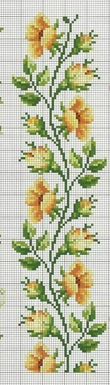This Pin was discovered by Nil Cross Stitch Freebies, Cross Stitch Bookmarks, Beaded Cross Stitch, Cross Stitch Borders, Cross Stitch Rose, Cross Stitch Flowers, Cross Stitch Designs, Cross Stitching, Cross Stitch Embroidery