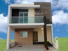 fachadas de casas de dos pisos con balcon buscar con google