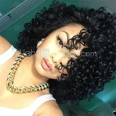 Brazilian Short Bob Virgin Human Hair Wigs Short Curly Full Lace Wigs For Black Women With Baby Hair - USD $129.31 ! HOT Product! A hot product at an incredible low price is now on sale! Come check it out along with other items like this. Get great discounts, earn Rewards and much more each time you shop with us!