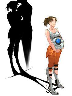 portal2 Shadow lover by ~biggreenpepper on deviantART