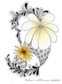 cool face and hair zentangle design - Zentangle - More doodle ideas - Zentangle - doodle - doodling - zentangle patterns. Zentangle Drawings, Doodles Zentangles, Zentangle Patterns, Doodle Drawings, Doodle Sketch, Doodle Patterns, Zantangle Art, Zen Art, Art Doodle