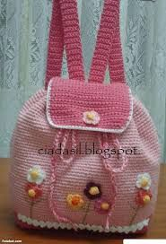 Resultado de imagem para bolsa de croche para criança