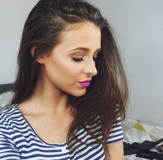 Chloe Chloe, Pearl Earrings, Makeup, Beauty, Jewelry, Fashion, Beleza, Pearl Studs, Make Up