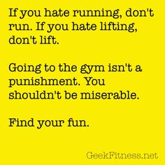 Working Out Shouldn't Feel Like Work