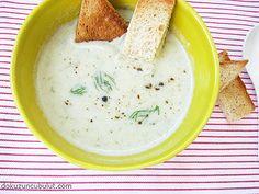 yoğurtlu kuru bakla çorbası