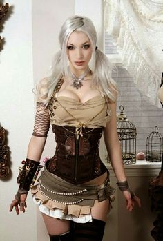 bbf5180be4 Obsessed with Steampunk style right now! Steampunk Couture