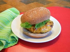 Smoked Turkey and Onion Burgers With Sharp Cheddar | Healthy Eats – Food Network Healthy Living Blog