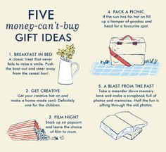 Five money-can't-buy gift ideas mom will love!
