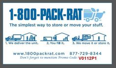 1000 Images About Promo Code Discount Packrat Storage