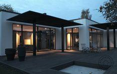 Solarshading on villa by novaform Novaform.