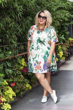 Curvy Girl Fashion, Trendy Fashion, Fashion Models, Color Fashion, Fashion Tips, Look Plus Size, Plus Size Model, Fashion Nova White Dress, Fashion Dresses