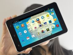 """The new concept in Communication. It ain't a Tablet, it ain't a phone...It's a ''Phablet'' =====> 7 Inch Android 4.1 Phone Tablet """"Mercury"""" - 3G, 1GHz Dual Core"""