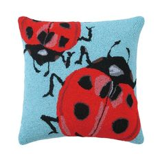 Lady Bugs Pillow