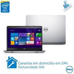 """Imagem para Notebook Dell, Intel Core i7-4510U, 16GB, 1TB de HD, Tela de 15,6"""" Touch, AMD Radeon, Inspiron 5000 - i15 5547-A30 a partir de Fast Shop"""