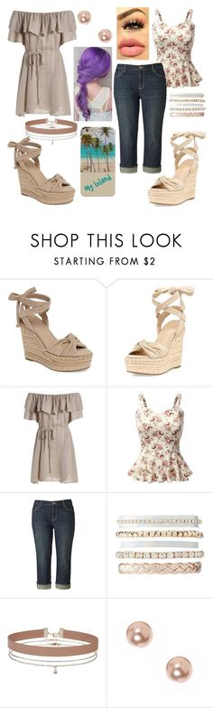 """""""My summer date"""" by carmen-41-navarro on Polyvore featuring Kendall + Kylie, Doublju, Simply Vera, Charlotte Russe, Miss Selfridge and claire's"""