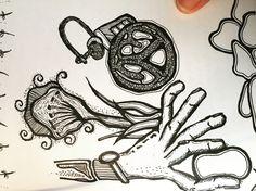 Steven's Hand, Keys & Steering Wheel - A Sketch by Jaime Koebel Keys, Sketch, Artist, Artwork, Cards, Sketch Drawing, Work Of Art, Key, Drawings