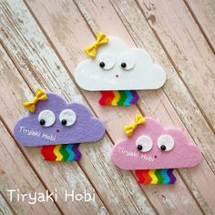 crafts for kids Ribbons Felt Crafts Patterns, Felt Crafts Diy, 3d Paper Crafts, Felt Diy, Handmade Felt, Fabric Crafts, Felt Flowers, Fabric Flowers, Preschool Crafts