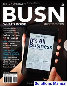 introduction to business fifth edition answers key