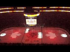 Tonight's NHL game featuring 2 American teams (Pittsburgh Penguins/Philadelphia Flyers) saw the Canadian national anthem being sung by all in support of Canada. Hockey News, Nhl News, Pittsburgh Penguins Stadium, Canadian National Anthem, Funny Sports Videos, Team Schedule, American Pay, Nhl Games
