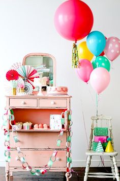 It S A Party Collection Sweet Lulu At Lark Pinwheel Decorations Birthday