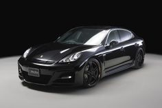 PORSCHE PANAMERA Sports Line Black Bison Edition
