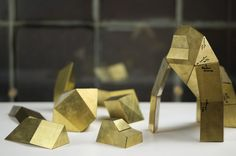 Get Your Fold On With These Metal Origami Kits | Brit + Co