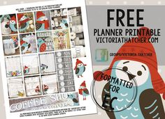 Free Printable Well Dunn Planner Stickers from Victoria Thatcher Free Planner, Planner Ideas, Happy Planner, Victoria Thatcher, Perfect Planner, Printable Planner Stickers, Free Printable, Free Stickers, Planner Decorating