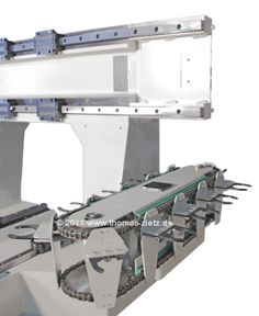 Thomas Zietz Service & Technik - Mineralgusstechnik - FS3MG Maschinengestell aus Mineralguss