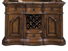 Amazon.com : Pulaski San Mateo Sideboard - 662303 : Furniture & Decor
