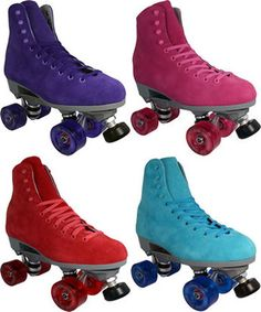 Sure-Grip Boardwalk Indoor Roller Skates- Equipped with outdoor RC Medallion Plus Wheels and Magnum Speed Abec 5 bearings for a smooth ride  - Great choice of skates for all types of skaters from beginners to advanced  - One of our most expressive skates at Roller Skate Nation; colorful, durable and comfortable