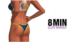 8 Minute Glutes Workout (TOTAL GLUTE LIFTER!!) (Video) – FITNESS