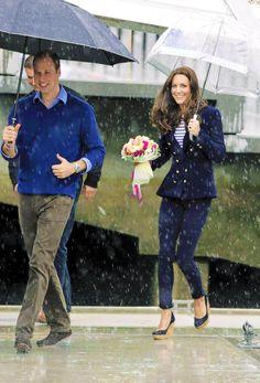 Raindrops and royals