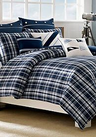 comforter plaid blue ms bnb denver ip com walmart