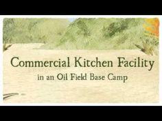 Modular Kitchen Facility in an Oil Field Base Camp For Rent. Atco, Barnegat, Barnegat Light, Beach Haven, Birmingham. Mullica Hill, Oil Field, Beach Haven, Deep Water, Commercial Kitchen, Birmingham, National Parks, Camping, Campsite