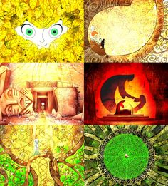 The Secret of Kells ~ This movie is one that I can only watch every once in a while because it's so beautiful.