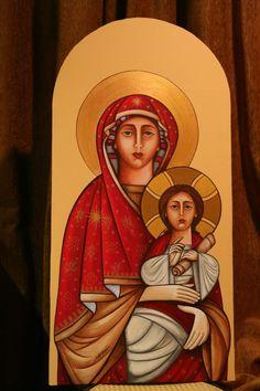 Coptic Icon of the Theotokos