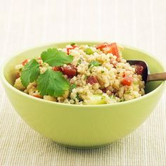 mmm with this on the side. quinoa with olives tomatoes and feta.  I'm excited for dinner now!