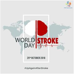 "World Stroke Day is observed every year on October and this day aims to raise awareness of Stroke Prevention, Treatment, and Support. This Year World Stroke Day (WSD) 2018 theme is ""Up Again After Stroke"". World Stroke Day, Putting Others First, Bad Headache, High Cholesterol Levels, Hormone Replacement Therapy, Brain Breaks, Cancer Treatment, Autoimmune Disease"