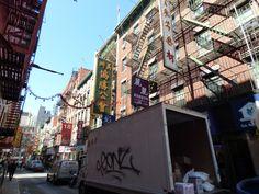 New York neighborhoods are always interesting to walk through.  WE walked the Brooklyn Bridge, Wall St, and Chinatown.