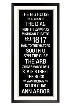 Michigan: College Town
